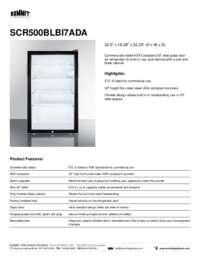 Brochure SCR500BLBI7ADA
