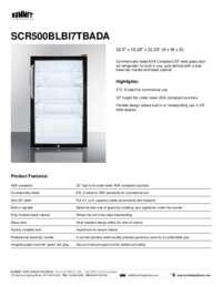 Brochure SCR500BLBI7TBADA