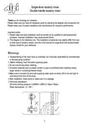 Installationinstructions
