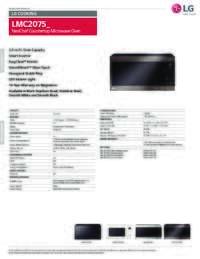 LMC2075 Spec Sheet