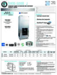 DKM 500B J Specifications Sheet