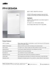 Brochure FF412ESADA