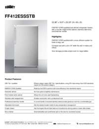 Brochure FF412ESSSTB