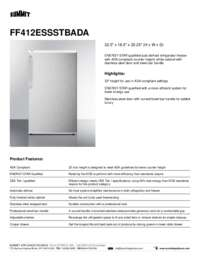 Brochure FF412ESSSTBADA