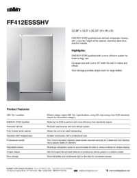 Brochure FF412ESSSHV