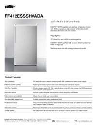 Brochure FF412ESSSHVADA
