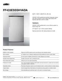 Brochure FF433ESSSHVADA