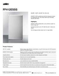 Brochure FF412ESSS