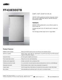 Brochure FF433ESSSTB