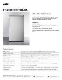 Brochure FF433ESSSTBADA