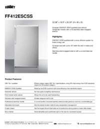 Brochure FF412ESCSS
