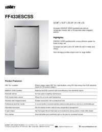 Brochure FF433ESCSS
