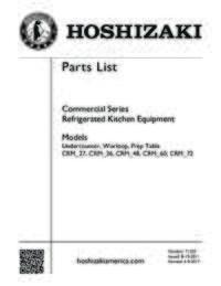 CRMR27 Parts List