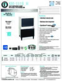 KM 151B H Specifications Sheet