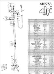AB2758 parts
