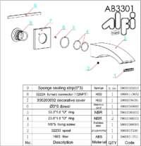 AB3301 parts