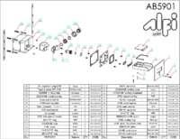 AB5901 parts