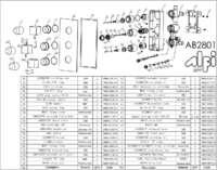 AB2801 parts