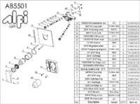AB5501 parts