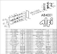 AB4001 parts
