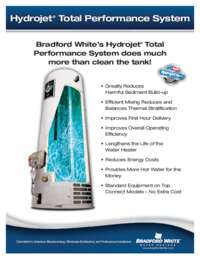 Hydrojet Total Performance System