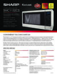 SMC1132CS Spec Sheet