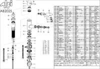 AB2025 parts