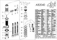 AB2040 parts
