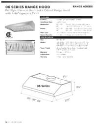 Specifications HRH3606U
