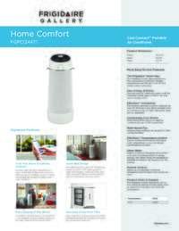 frigidaire 12000 btu portable air conditioner manual