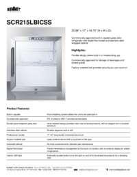 Brochure SCR215LBICSS