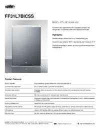 Brochure FF31L7BICSS