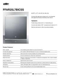 Brochure FFAR25L7BICSS