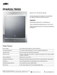 Brochure FFAR25L7BISS