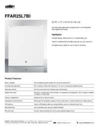 Brochure FFAR25L7BI