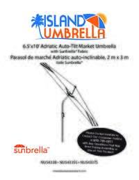 NU5433 Sunbrella Manual