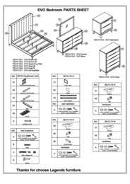 Evo Parts list