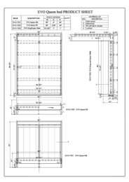 Evo Specification Sheet