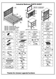 Industrial Bedroom Parts List