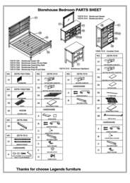Storehouse Collection Parts List