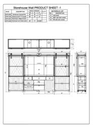 Storehouse Collection Specification Sheet