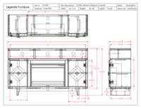 Fireplace Console Specification