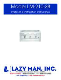 User Manual with Specifications