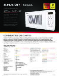 SMC1131CW Spec Sheet