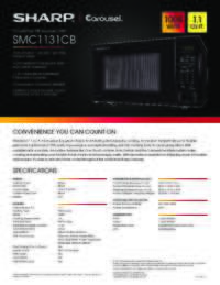 SMC1131CB Spec Sheet