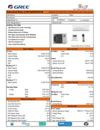 Submittal Sheet