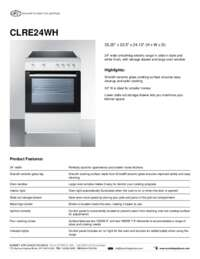 Brochure CLRE24WH