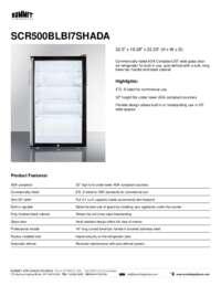 Brochure SCR500BLBI7SHADA