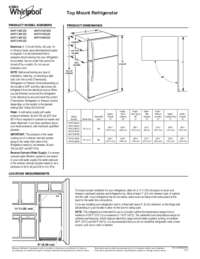 Dimensions Guide with Specifications