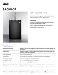 Brochure SBC570CF